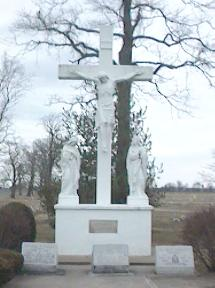 Photograph of Calvary Cemetery Altar dedicated to Fr. Henry C. Petri